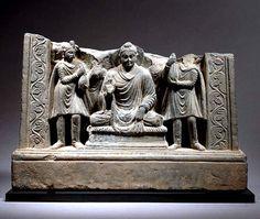 Hidden Treasures, Buddhist Art, Silk Road, Central Asia, Afghanistan, Buddhism, Lion Sculpture, Indian, Statue