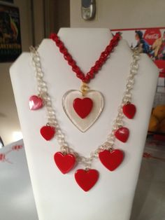 Bakelite lucite and celluloid, nothing makes better hearts!