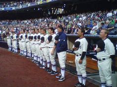 June 11, 2011: The Padres celebrated  75 years of baseball in San Diego, with the 1936 PCL Padres uniforms... stirrups and all!