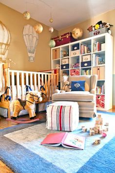 What does a talented interior designer's child's bedroom look like - A room chock full of fun and inspiration that he'll get to explore as he grows.
