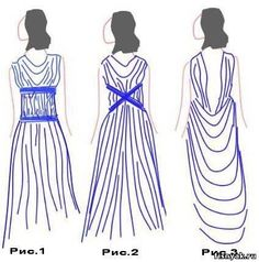 HandMadera: Greek dress DIY (2 easy ideas for a goddess look)