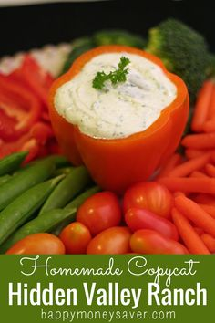 A Homemade Hidden Valley Ranch Mix Copycat recipe! See the secret ingredient to making this taste just like the real thing.always looking for a ranch mix Real Food Recipes, Cooking Recipes, Yummy Food, Healthy Recipes, Food Tips, Free Recipes, Food Ideas, Zucchini Chips, Homemade Seasonings