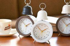 *おしゃれな目覚し時計*テーブルクロック SHIFFON シフォン