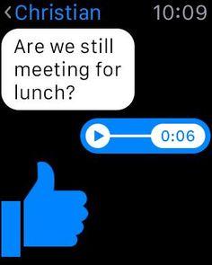 Messenger approda su Apple Watch