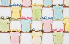 Check out these cookies from Elenis.com. Perfect gift for a new mama.