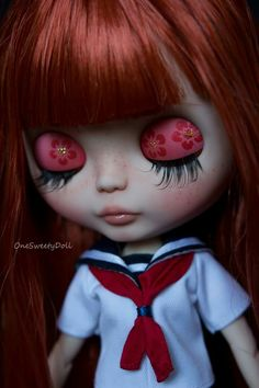 Iness, cutom onesweetydoll red hair girl
