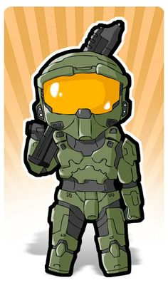Halo, Master Chief Standee
