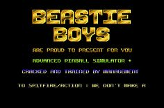 [CSDb] - Beastie Boys Intro by Beastie Boys (1988)