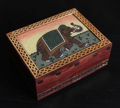 This is pretty cute... Indian handmade wood jewelry box. Plenty of other nick-nacks