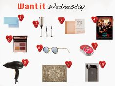 """Want it Wednesday""  Check out the items we're currently coveting and shop it for yourself!"