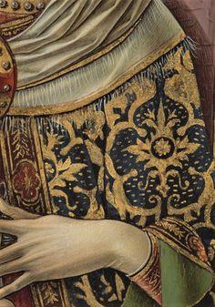 Carlo Crivelli - Madonna (Lenti) e bambino, dettaglio - 1480 - Metropolitan Museum of Art