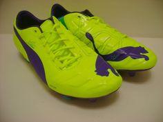 Puma EvoPower 1 FG 'Pro Quality' Men's Football Boots (102942-08) All Sizes   #PUMA