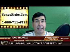Texas Longhorns vs. Kansas Jayhawks Pick Prediction NCAA College Basketb...