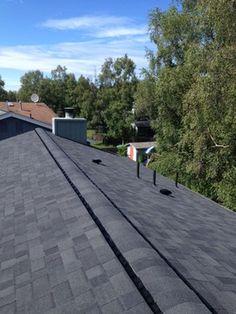 Gaf royal sovereign 3 tab shingles shingle roofing - Exterior house painting anchorage ...