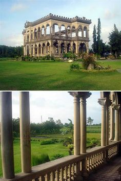 Talisay City in the Philippines features a mansion built by a sugar magnate at the turn of the last century that not once, but twice, was destroyed in the Second World War in order to prevent Japanese forces from using it. - http://www.oddee.com/item_96671.aspx