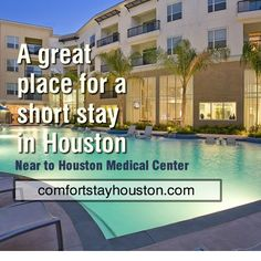 Furnished Apartments, All Inclusive, Family Vacations, Medical Center, Great Places, Houston, Mansions, House Styles, Outdoor Decor