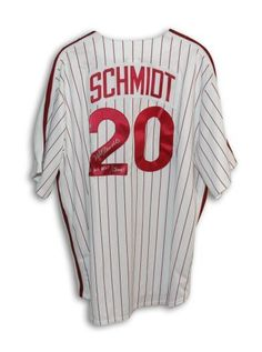 Mike Schmidt Autographed Jersey - with