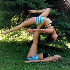 661 best partner yoga images in 2019  partner yoga yoga