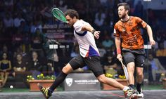 Squash tip for the day: When under pressure, shorten your swing and keeping things as simple as possible. Focus on shot quality & giving yourself time to reset. www.mysquash.com