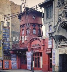 Original Moulin Rouge, ca. 1914