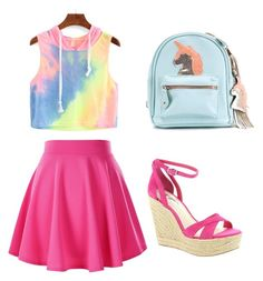 """""""Unicorns"""" by tumblrgirl110 ❤ liked on Polyvore featuring beauty and BCBGeneration"""