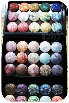 MAC Mineralize Eyeshadow Collection - those pretty colours!!