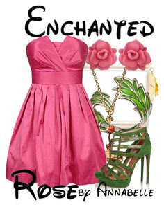 The Enchanted Rose by annabelle-95 on Polyvore featuring Forever 21, Alaïa, mettle - Fair Trade, Bernard Delettrez and Marc by Marc Jacobs
