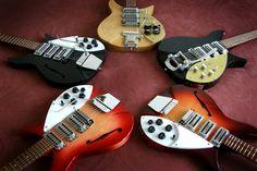 Rickenbacker 325 Beatles Guitar, Music Guitar, Cool Guitar, Playing Guitar, The Beatles, Rickenbacker Guitar, Guitar Pics, Gibson Guitars, The Fab Four