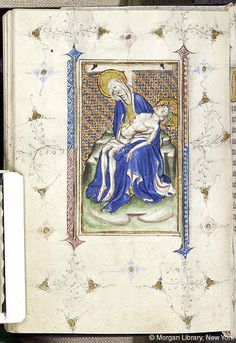 Book of Hours, MS M.866 fol. 106v - Images from Medieval and Renaissance Manuscripts - The Morgan Library & Museum