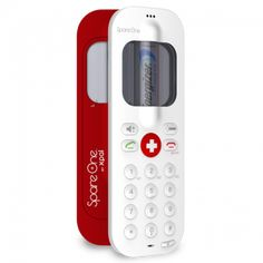 SpareOne Emergency Phone--the world's most usable emergency cell phone. Keeps its charge of up to 15 years and runs on an AA battery.