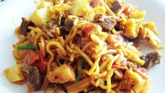 How to Make Mee Goreng (Mamak Fried Noodles) ***** Mee Goreng Mamak, Malaysian Food, Noodles, Fries, Delish, Dishes, Eat, Cooking, Ethnic Recipes
