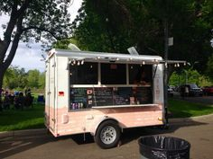 """Cronut Ice Cream Sandwich - Sweet Creams Cheesecakery / Reno - Sweet Creams Cheesecakery is a seasonal food truck that specializes in handcrafted gourmet cheesecake goodies. In addition to cheesecake goodies, they also offer delicious """"Cronut Ice Cream Sandwiches."""""""