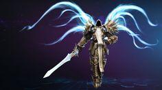 Tyrael Archangel of Justice Diablo Heroes of the Storm Game Mr__jack 1920x1080