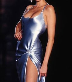 b14fe07648fc Versace Versace Versace Nadja Auermann, Versace Fashion, Catwalk Fashion,  90s Fashion, Female