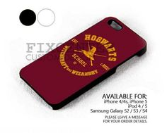 Hogwarts Witchcraft case for iPhone 4/4S/5 iPod 4/5 Galaxy S2/S3/S4 | FixCenter - Accessories on ArtFire