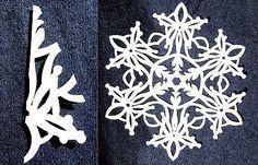 Fiocchi Di Neve Di Carta Modelli : Fantastiche immagini su fiocchi di neve fiocchi di neve