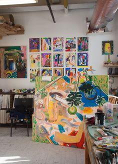 Shara Hughes – Greenpoint | #ffffff walls