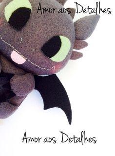 Amor aos Detalhes - Dragão Banguela