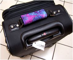 Luggage Handle--spot your luggage with ease at the airport.