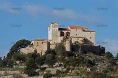 The church Sant Salvador at Arta in Mallorca