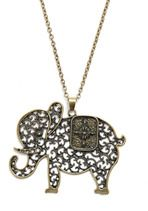 The Elephant's Elegance Necklace