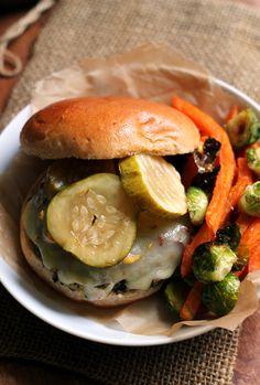 Spicy Black Bean, Quinoa, and Sweet Potato Burgers