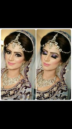 ** Bridal makeup **