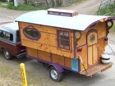 travel trailer or gypsy wagon...oh my! (by Joseph Crowell)