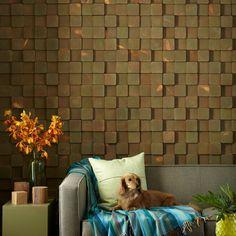 Wood Block Wall