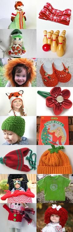 Foxy Finds for the Season by Marcia on Etsy--Pinned with TreasuryPin.com