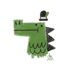 Dapper Crocodile / Bart Aalbers