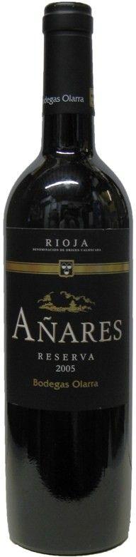 Anares Tinto Rioja Reserva, Bodegas Olarra 2004