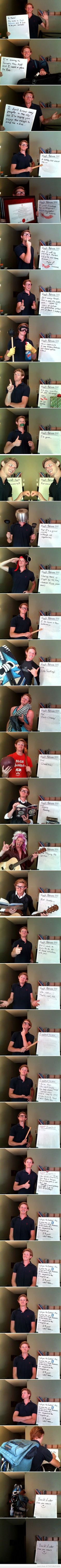 He had me at Quidditch! I feel like I've pinned this already, but this guy wins. Also, I kinda want a follow up - like, did he find an awesome roommate?