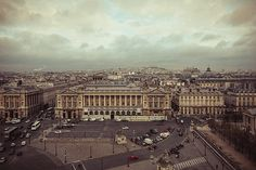 Anna Matveeva. Paris in vintage style.The view from the top.photographers